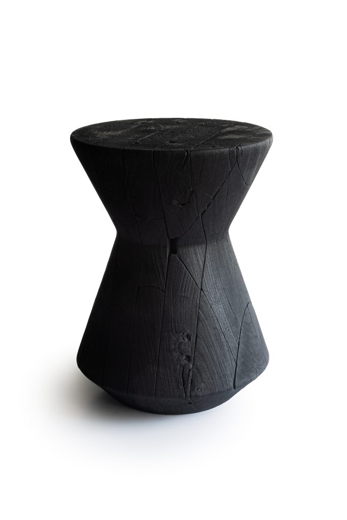 CarmWorks burnt stool fire wood