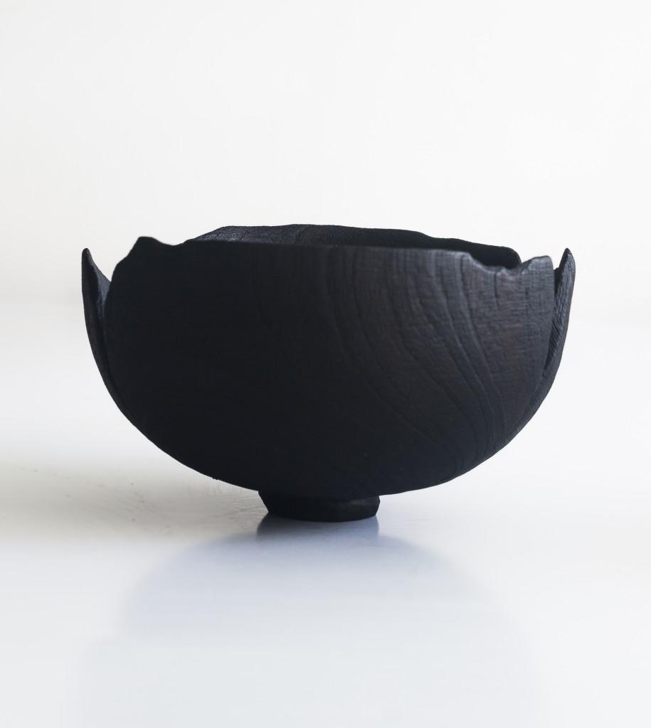 Burned bowls by CarmWorks Yakisugi
