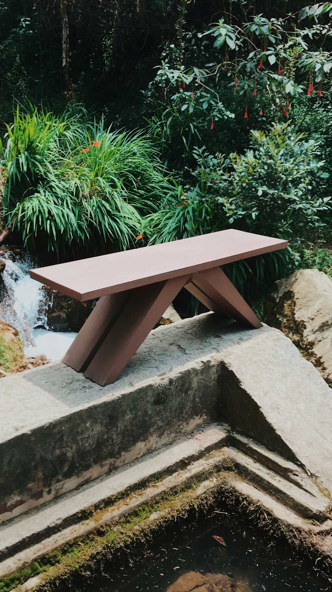 furniture bench made in wood